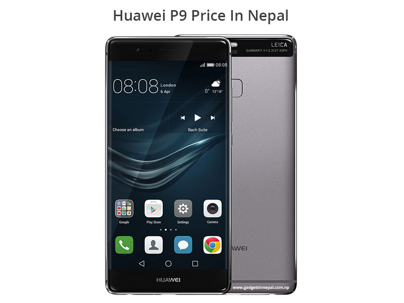 Huawei P9 Price In Nepal