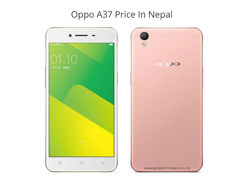 Oppo A37 Price In Nepal