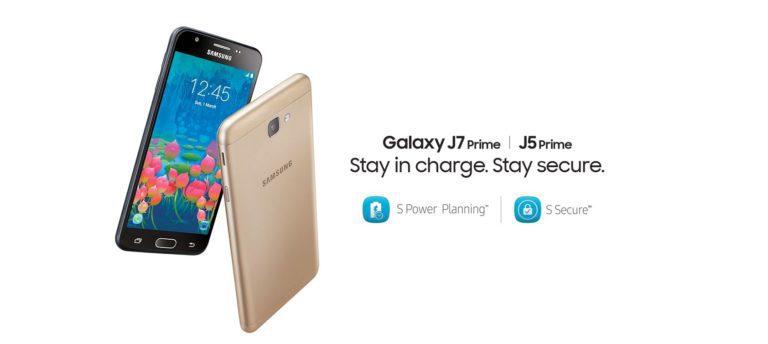 Samsung Galaxy J5 prime and J7 prime price in Nepal