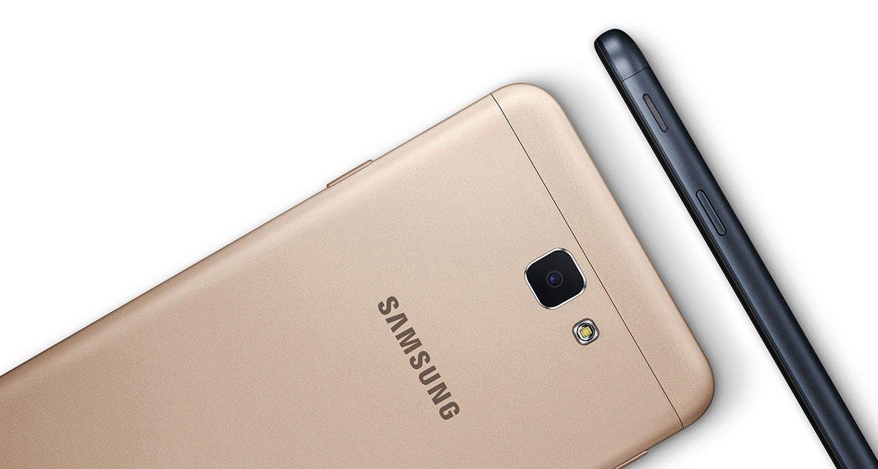 Samsung Galaxy J7 prime design