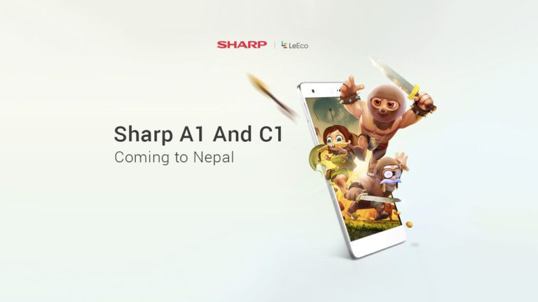 Sharp A1 and C1 price in Nepal