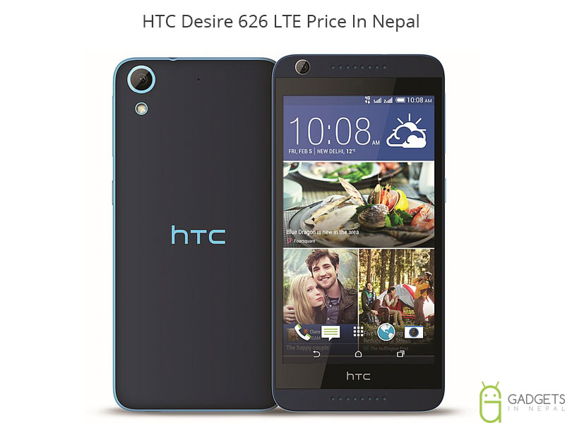HTC Desire 626 LTE Price In Nepal