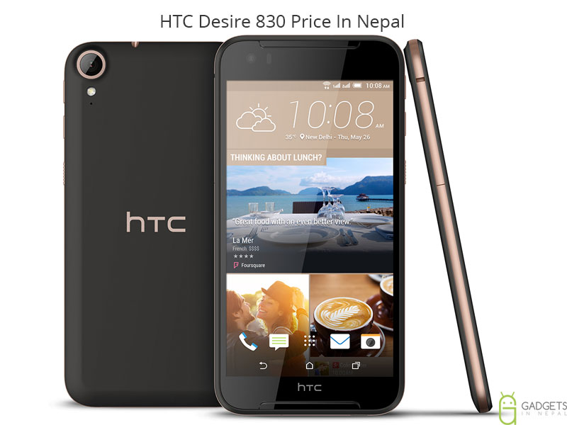 HTC Desire 830 Price In Nepal