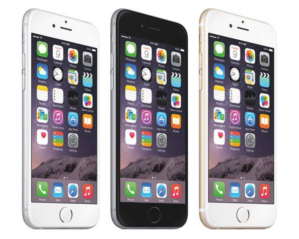 Iphone 6 with RETINA display