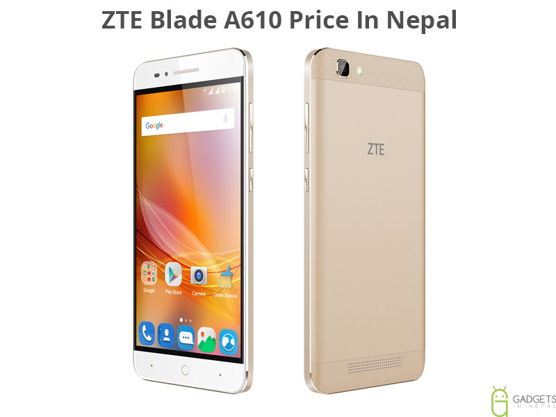 ZTE Blade A610 Price In Nepal