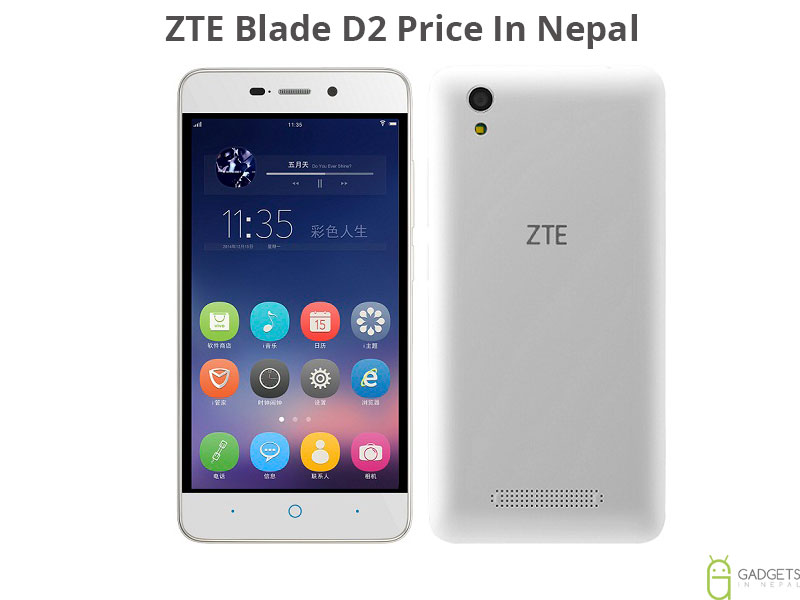 ZTE Blade D2 Price In Nepal