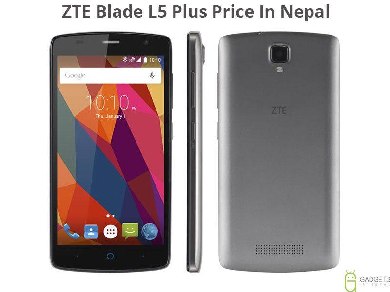 ZTE Blade L5 Plus Price In Nepal