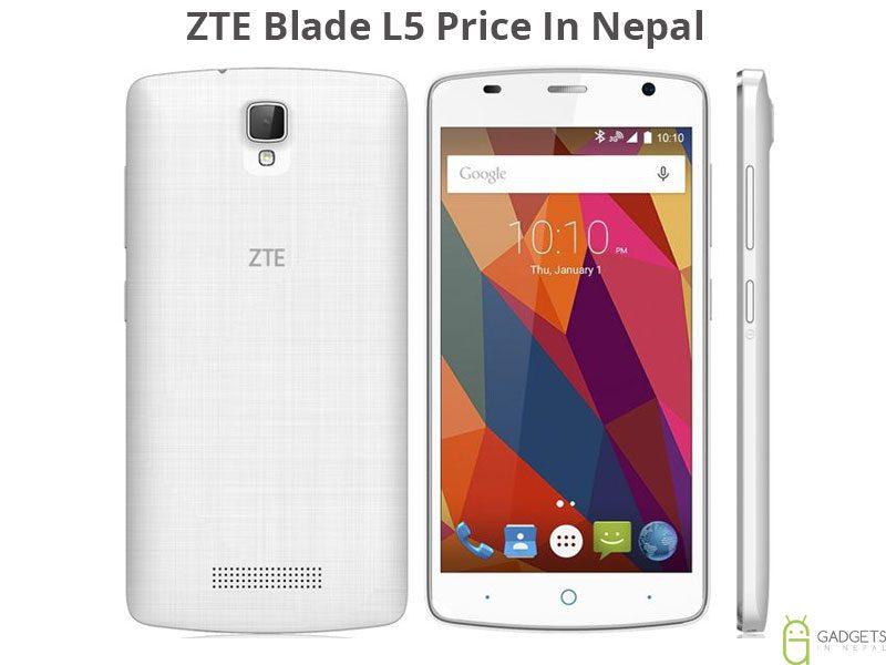 ZTE Blade L5 Price In Nepal