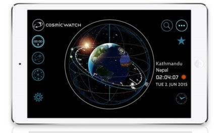 Cosmic Watch — An interactive 3D Astrolabe