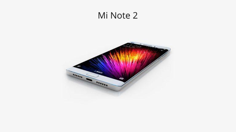 Mi Note 2 specs and price