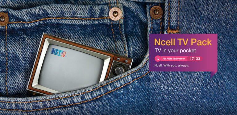 Ncell TV Pack Offer