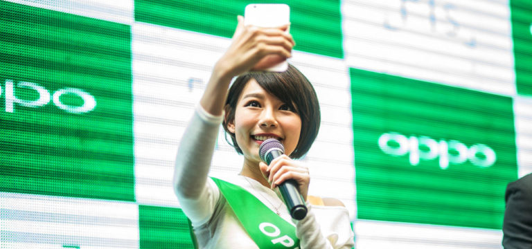oppo smartphone tops chinese market q3 2016