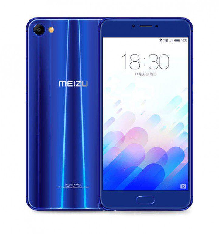 Meizu m3x blue