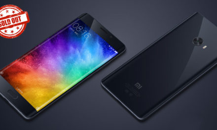 First Sale Of Mi Note 2 Sold Out In Just 50 seconds