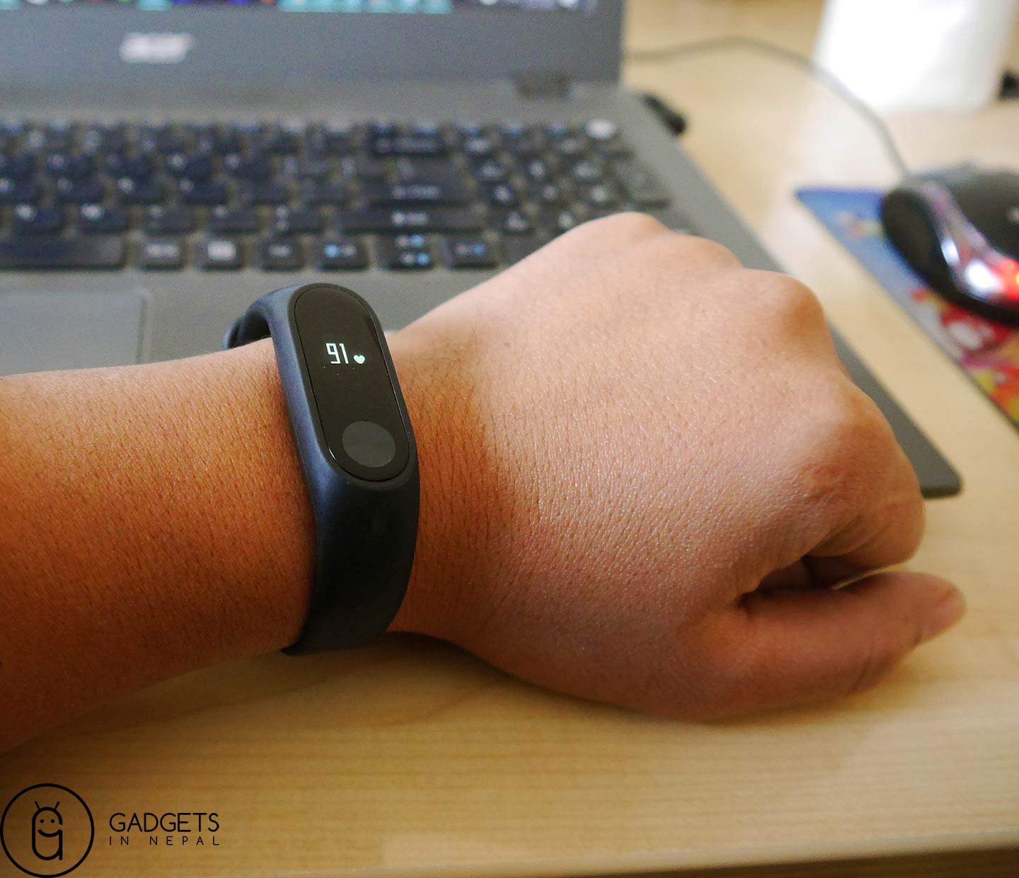Mi Band 2 Heart Rate Monitor Feature