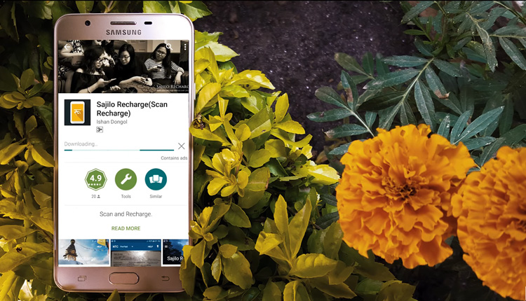 Sajilo Recharge Android App