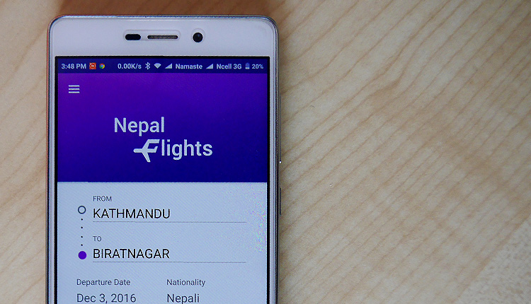 Nepal Flights Android Apps