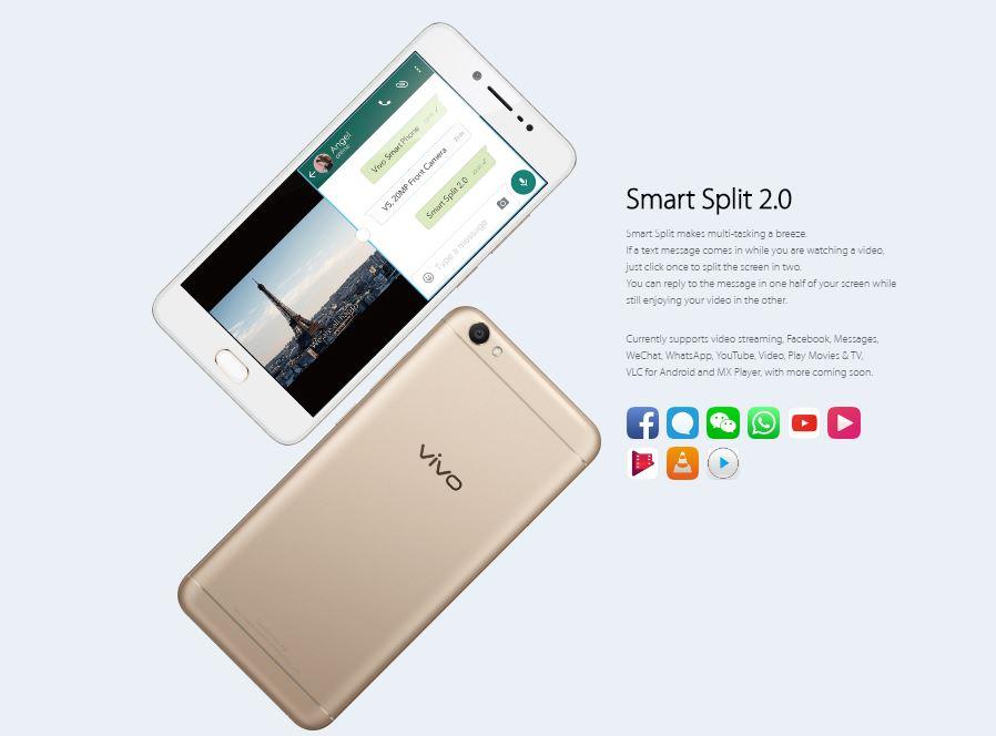 Vivo V5 Smart Split 2.0