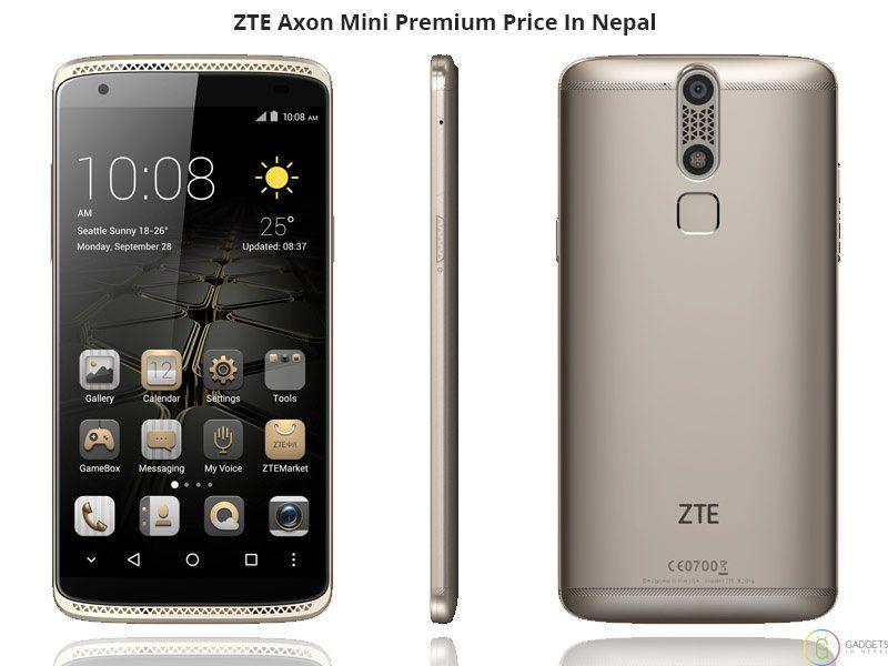 ZTE Axon Mini Premium Price In Nepal
