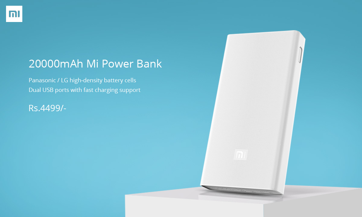 20000mAh Mi Powerbank price in Nepal