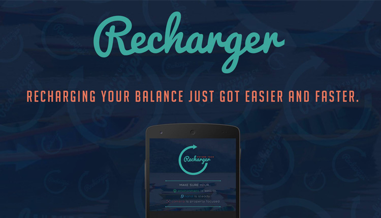 Recharge Using Smartphone's Camera with Re charger App