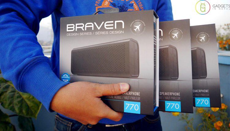 Braven 770 Bluetooth Speaker In Nepal