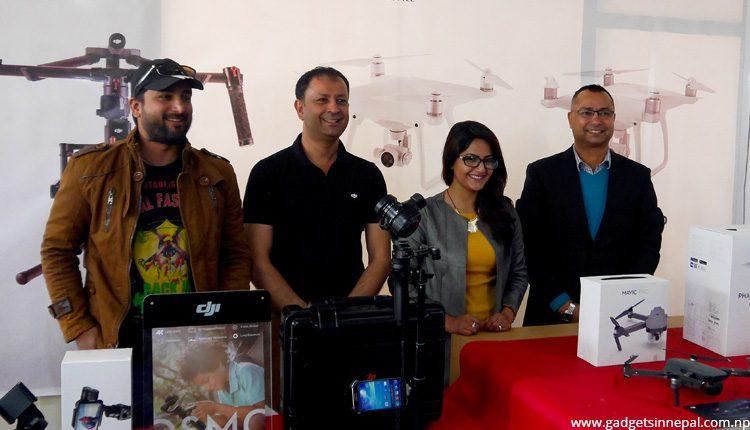 DJI authorized distributor in Nepal