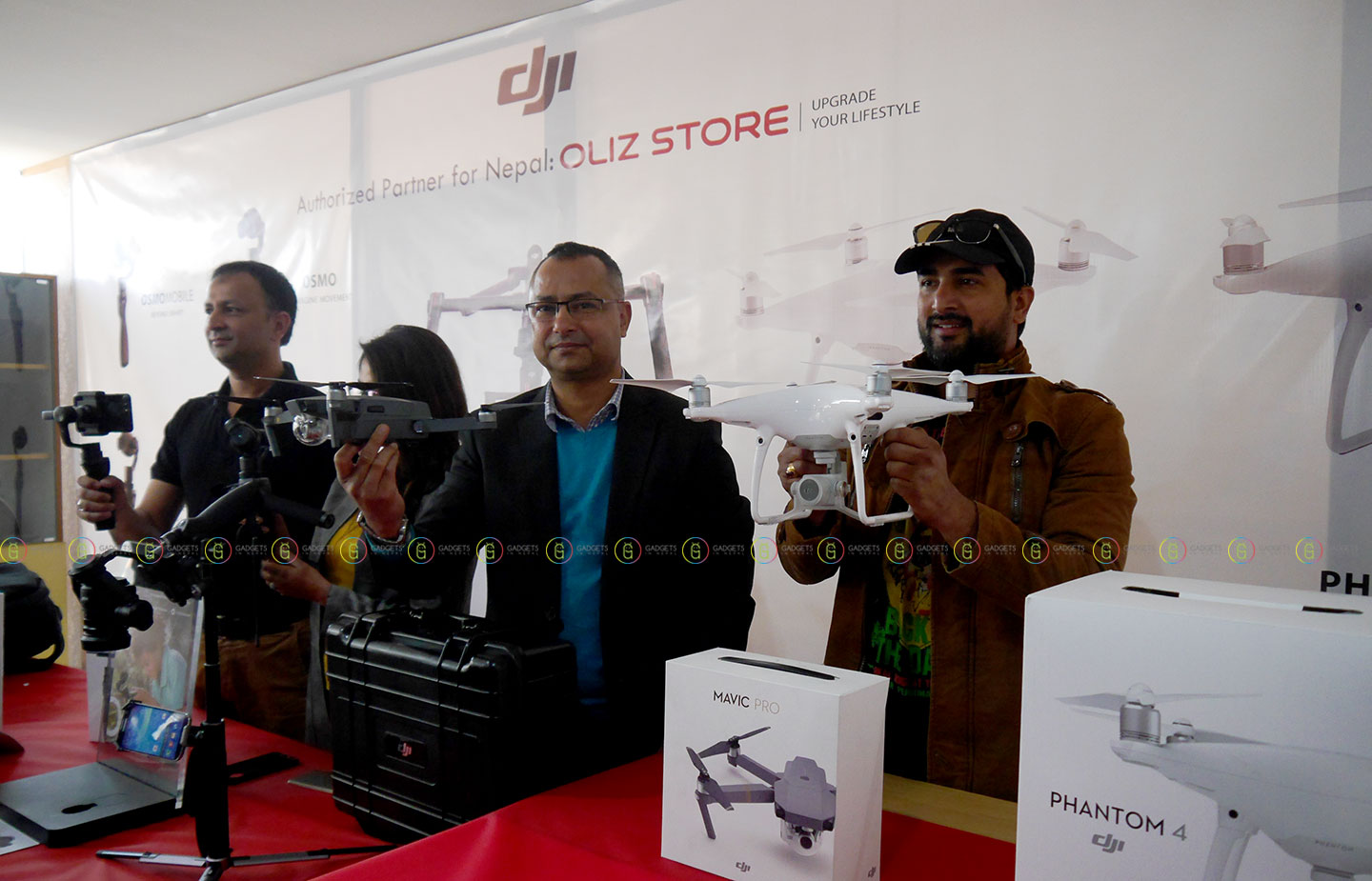 Oliz Store launched new products of DJI in Nepal
