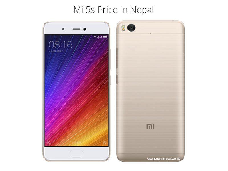 Mi 5s Price In Nepal