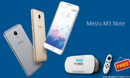 Free VR Headset on Every purchase of Meizu Smartphone In Nepal