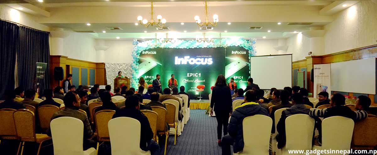 InFocus Epic 1 Launch event