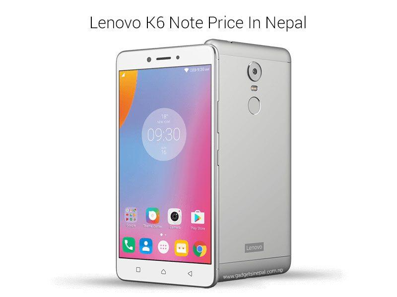 Lenovo K6 Note Price In Nepal