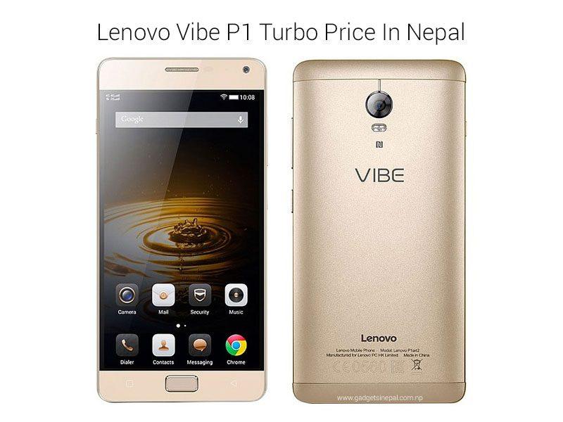 Lenovo Vibe P1 Turbo Price In Nepal