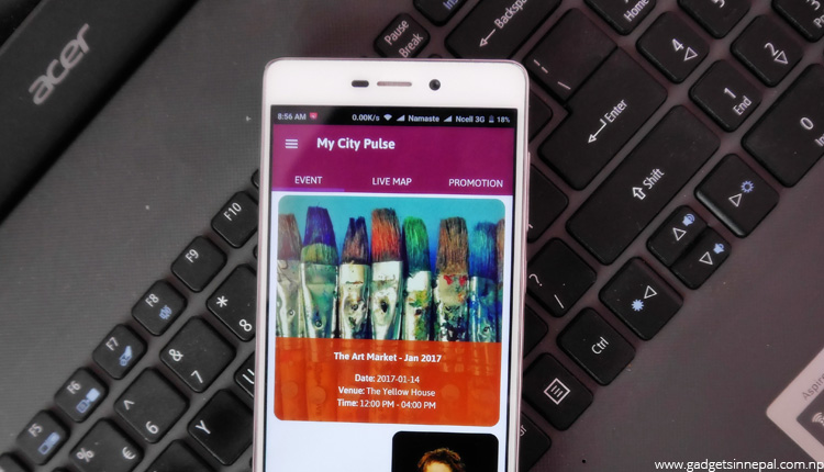 My City Pulse — Keep Track Of Events In Your City