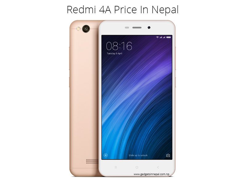 Redmi 4A price in Nepal