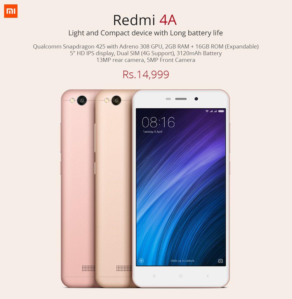Redmi 4A Price In Nepal