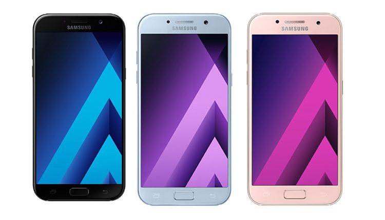 Samsung Galaxy A series 2017 announced