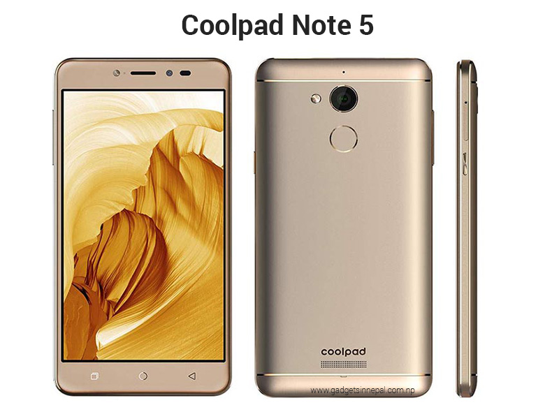 Coolpad Note 5 in Nepal