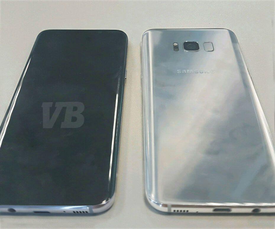 Samsung Galaxy S8 Live Image Leaked | Image Credit: VentureBeat