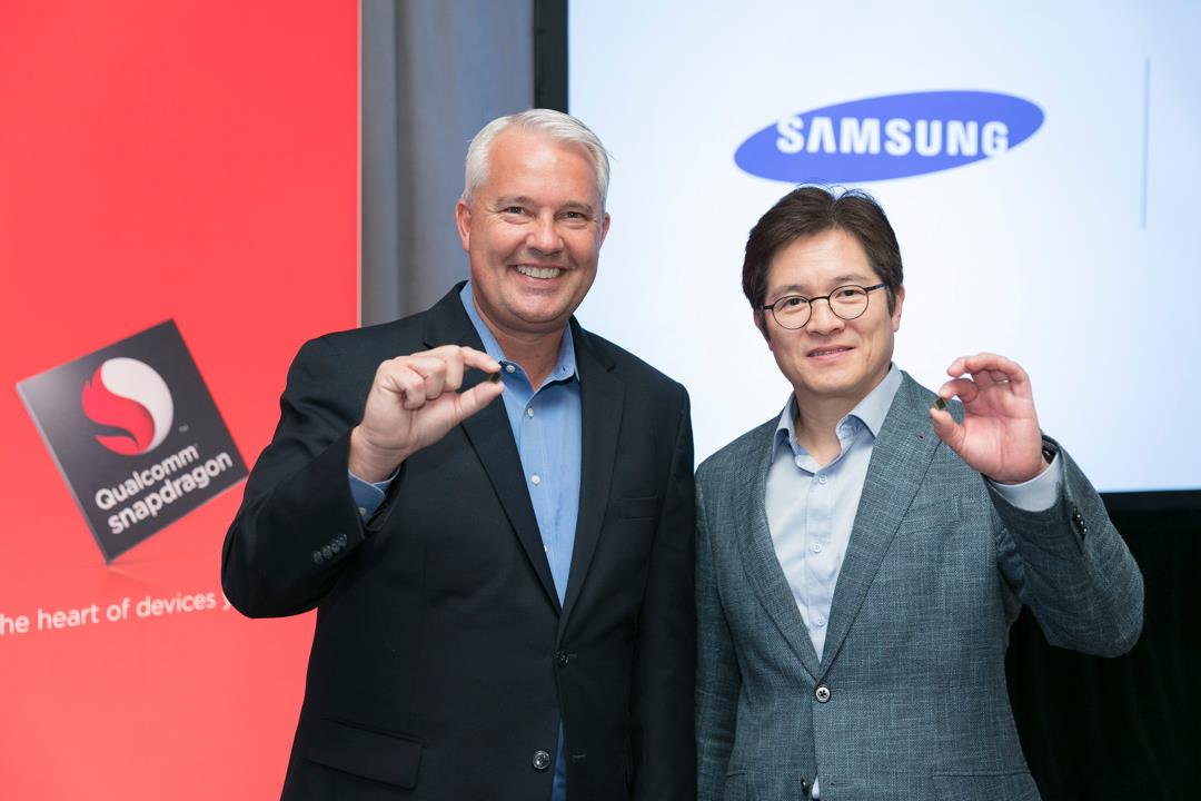 Qualcomm and Samsung collaborate on 10 nm process technology