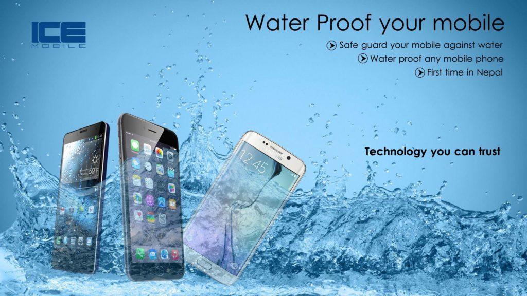 Waterproof your phone