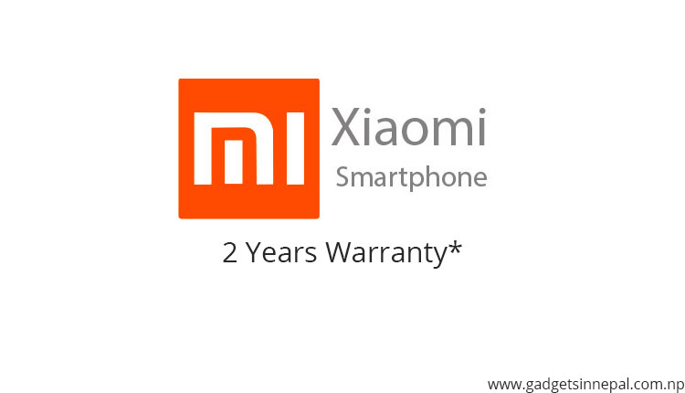 2 years warranty on Xiaomi smartphones in Nepal