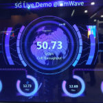 5G live demo at MWC 2017