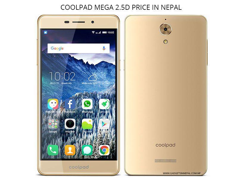 Coolpad Mega 2.5D Price In Nepal