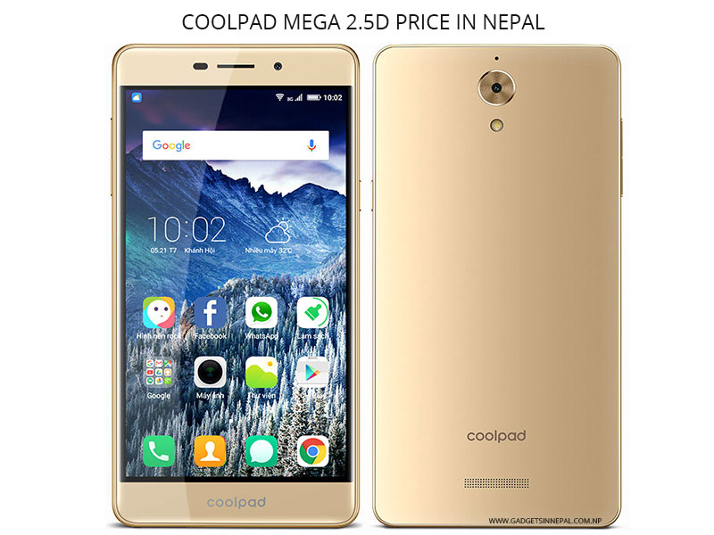 Coolpad Mega 2.5D Price In Nepal