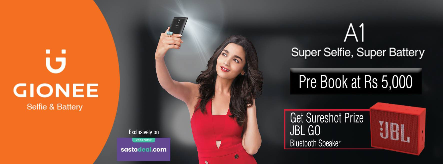 Gionee A1 Pre-booking in Nepal