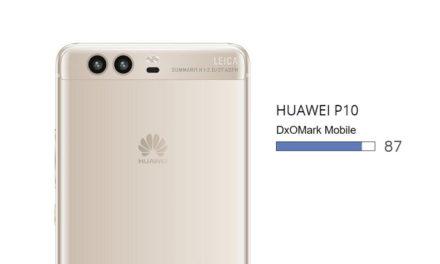 Huawei P10 Scored 87 In DxOMark