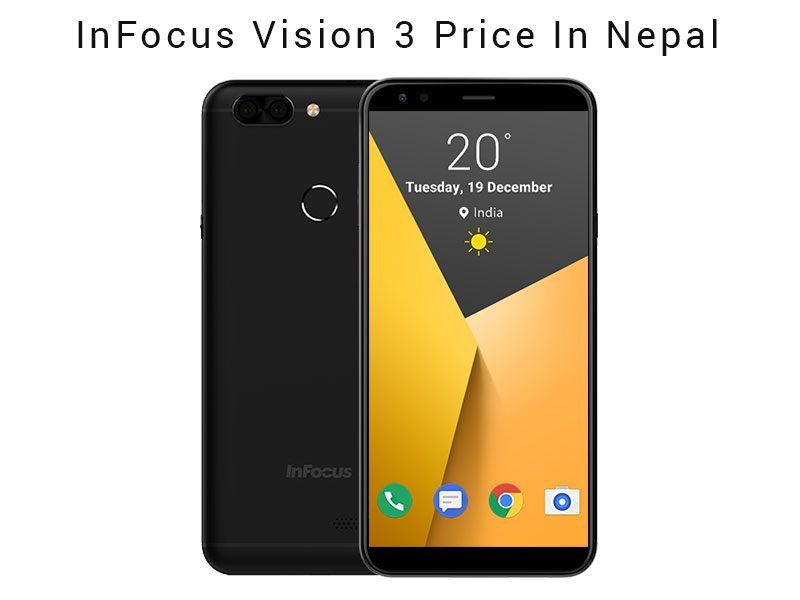InFocus Vision 3 Price In Nepal