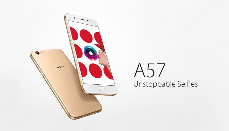 Oppo A57 price in Nepal