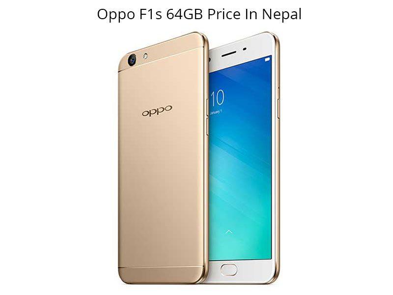 Oppo F1s 64GB price in Nepal